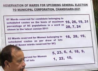 UT Election Commission announces reserved wards for MC Chandigarh polls