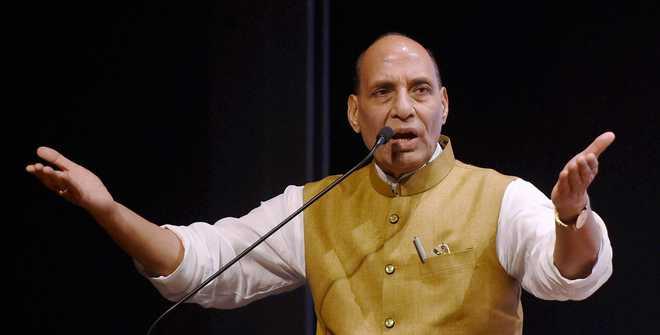 History distorted: Oppn slams Rajnath Singh over Gandhi remark