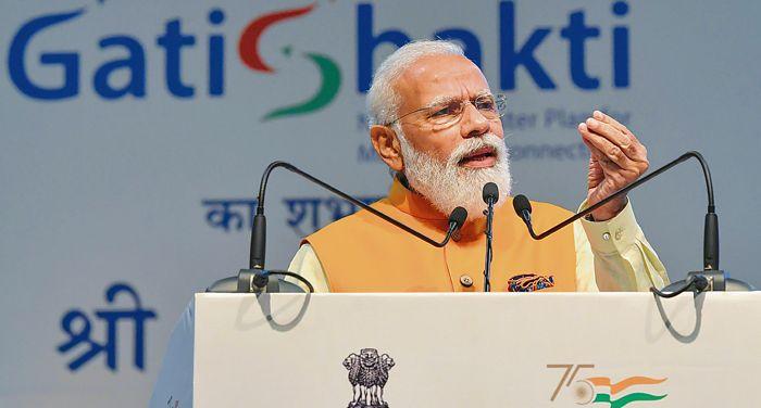Modi launches Gati Shakti plan to boost infrastructure