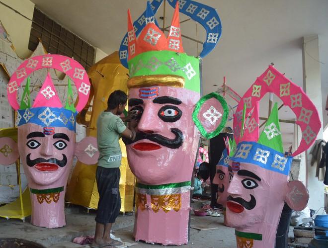 100-ft Ravana effigy to go up in flames at Daresi ground in Ludhiana