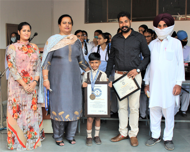 Ludhiana: 6-yr-old Agamjot to feature in State Speed Roller Skating Championship