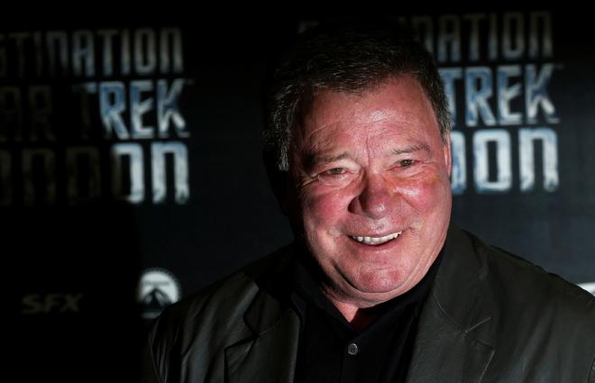 Star Trek's Shatner becomes oldest space traveller