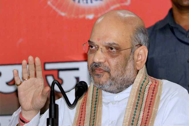 Review of security on agenda of Amit Shah's visit