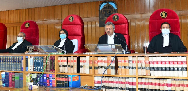Acting chief justice of Himachal Pradesh High Court Ravi Malimath given farewell