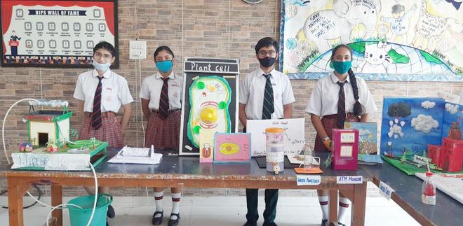 Science exhibition at DIPS School