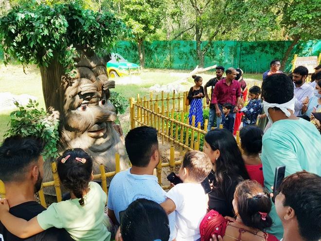 Wildlife Week celebrations see a footfall of 10,000 at Chhatbir zoo