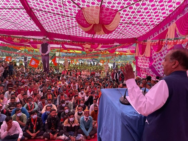 Less emotions, more politics in Cong rallies: Himachal CM