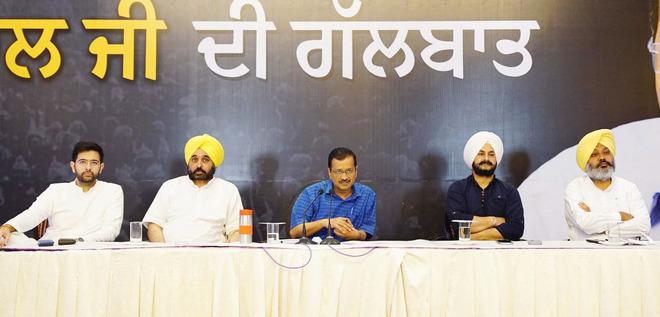 Will end red tape, inspector raj: Kejriwal to Punjab bizmen