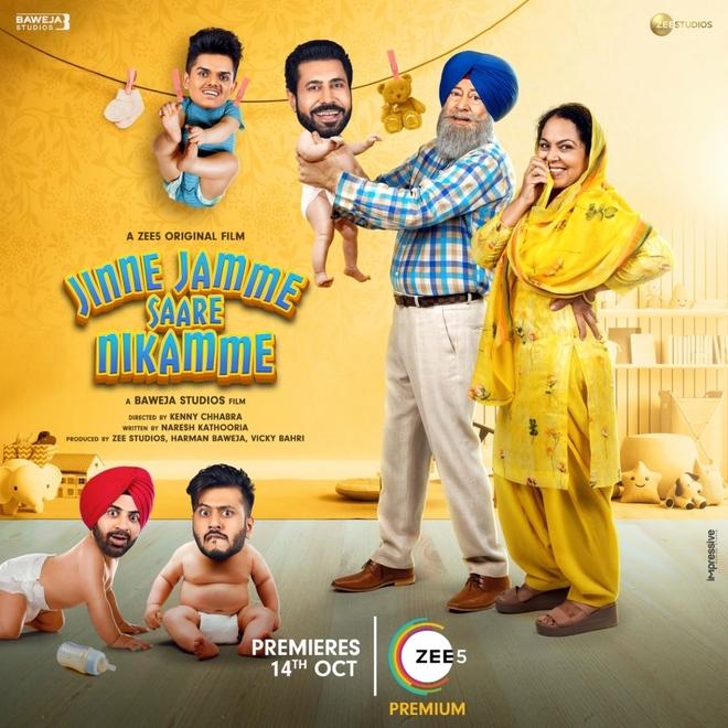 Watch the first-ever original OTT Punjabi film Jinne Jamme Saare Nikamme