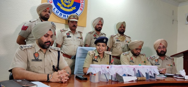 Snatchers' gang busted in Ludhiana, 4 held