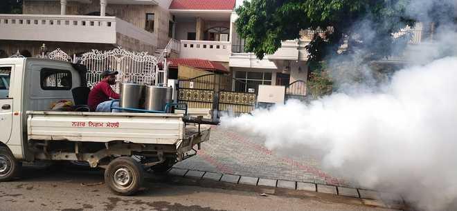 Mohali Municipal Corporation steps up fogging