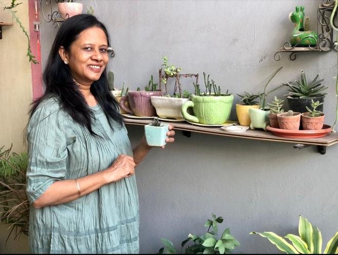She nurtures 'test-tube plants'