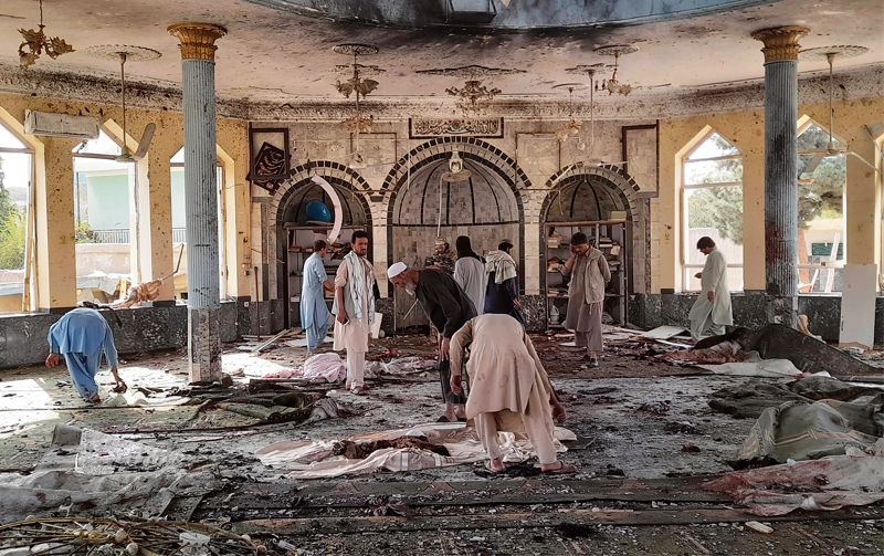 India condemns Afghanistan mosque strike, flags sectarian attacks