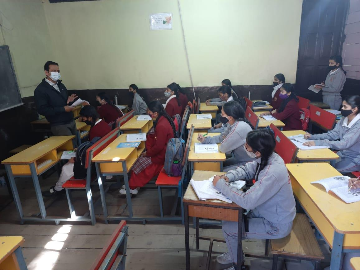 HP schools open for Class VIII, 49% attendance on Day 1