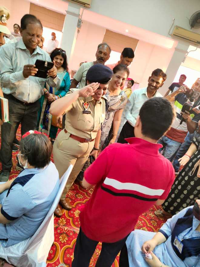 Ludhiana Police give special kids, parents tips on safety
