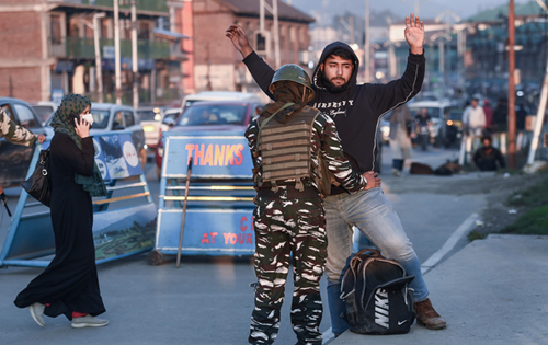 NIA raids multiple locations in Kashmir, arrests 4 aides of ultras