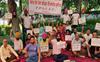 Patiala: PPSC office staff continue pen-down strike