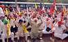 Farmers block rail tracks in Amritsar, Tarn Taran, passengers suffer