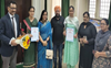 Girls shine in poster-making contest