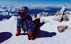 Panjab University student does yoga on highest peak of Europe