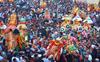 Kullu Dasehra: Deities visit Raghunath temple for final ritual