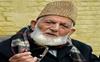 Syed Ali Shah Geelani's grandson sacked