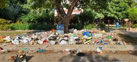 Punjabi University campus turns a garbage dump