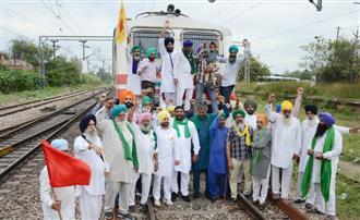 Farmers block rail tracks in Jalandhar, seek arrest of Ajay Mishra