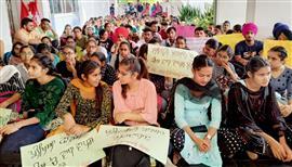 Punjabi varsity students protest increase in fee