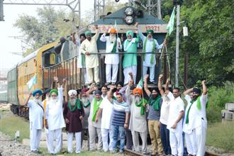 Farmers to observe 'rail roko' for six hours in district today
