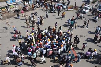 'Derogatory' remarks against Guru Nanak Dev: Protesters block Samrala Chowk for 8 hours