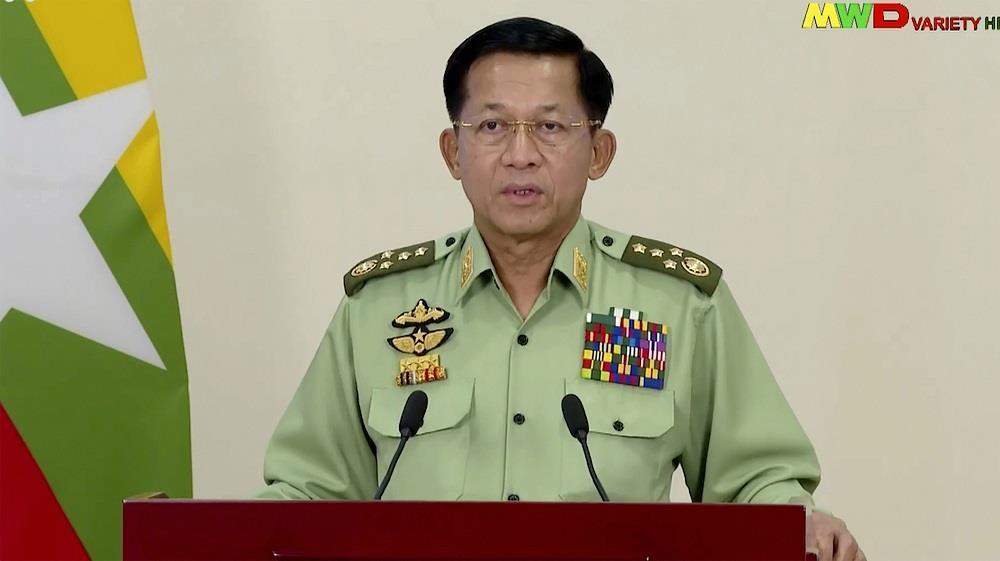 Myanmar junta chief urges economic action as Western pressure grows