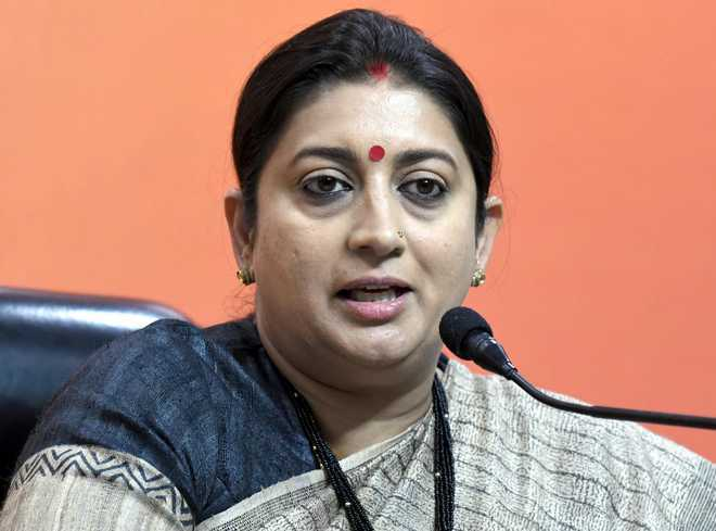 Smriti Irani buys land in Amethi to build house, takes a dig at Rahul Gandhi