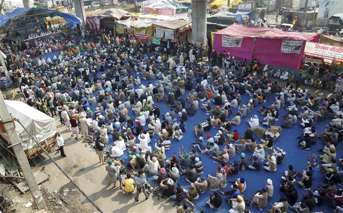 Singhu border: Farmers improve facilities, infrastructure to prepare for prolonged protest