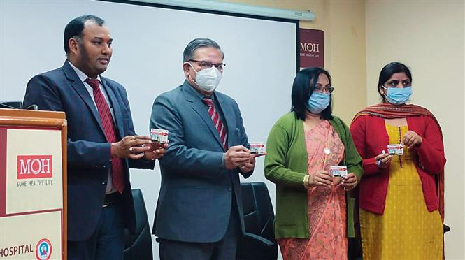 Mohandai Oswal Hospital felicitates blood donors