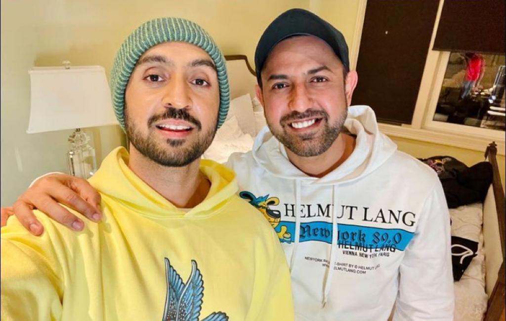 Diljit Dosanjh squashes fallout rumours with Gippy Grewal in latest Instagram post; check it out - The Tribune India