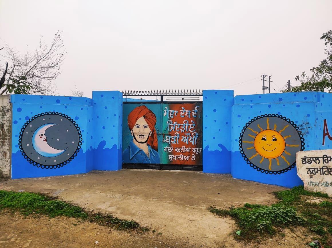 NRIs transform primary school in Jalandhar into heaven