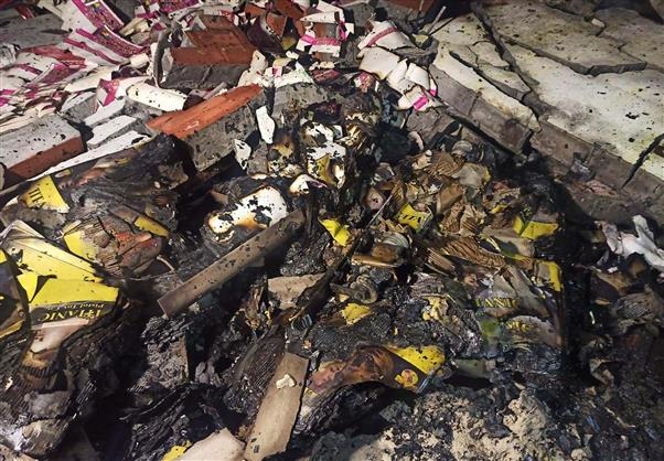 Two blasts in cracker factory in Karnal; three seriously injured
