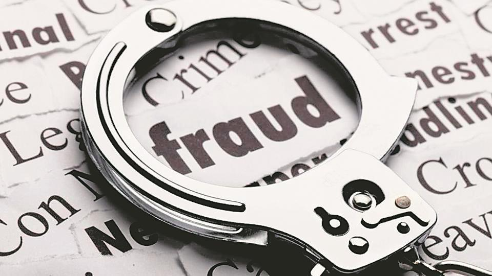 3 booked for fraud