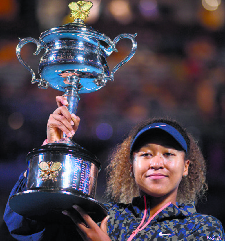 Naomi Osaka slams Jennifer Brady for fourth Major