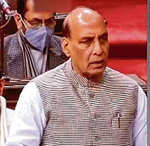 China to return to Finger 8: Rajnath