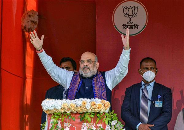 Bengal polls to be fought between Modi's 'vikas' and Mamata's 'vinash' models: Amit Shah