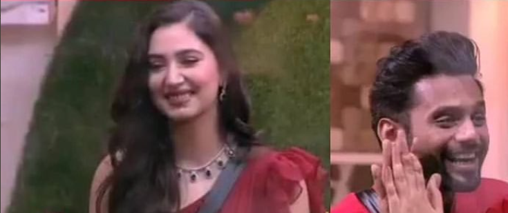 Rahul Vaidya's proposes Disha Parmar during Bigg Boss 14 Valentine's Day episode; read her response