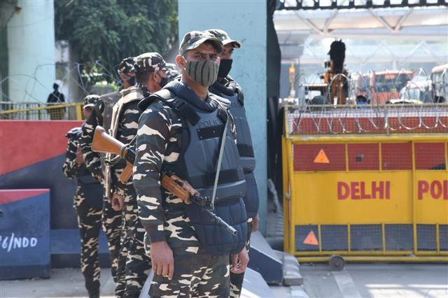 Delhi Police on high alert; Left union leaders taken in preventive custody