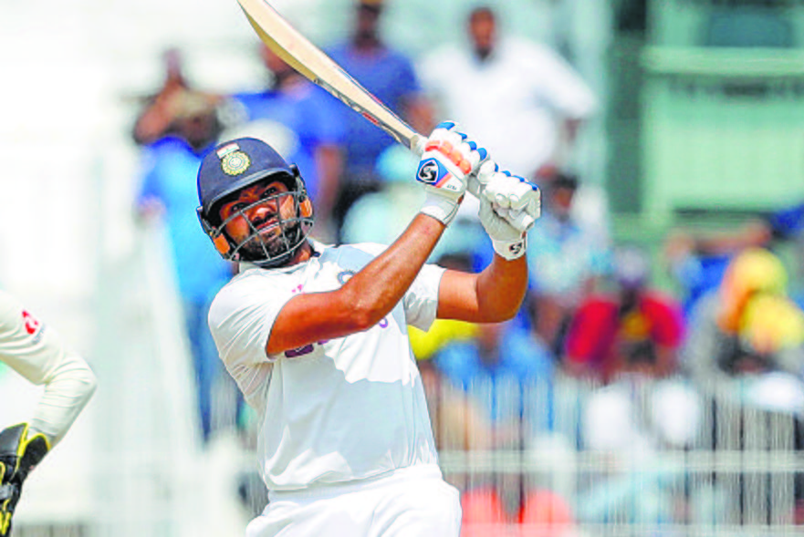 Rohit defends Chepauk pitch, says every team has right to take home advantage