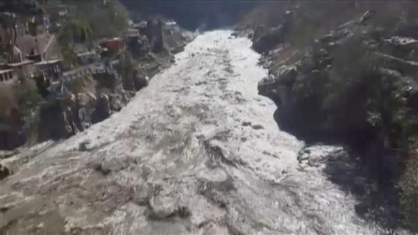 High alert in Uttar Pradesh as glacier breaks off in neighbouring Uttarakhand