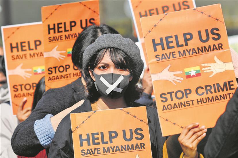 Isolation of Myanmar