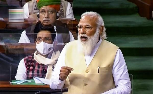 Neither has any 'mandi' shut nor has MSP stopped, says PM Modi; Cong, TMC stage walkout