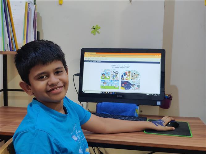 Class V Maharashtra boy wins Google coding contest