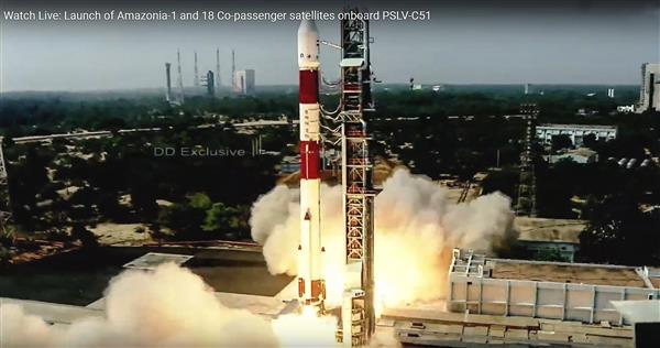 ISRO launches Brazil's Amazonia-1, 18 other satellites; SD-SAT carries e-Gita, PM Modi's photo